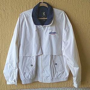 White Zenith fishing jacket. Sz  XL